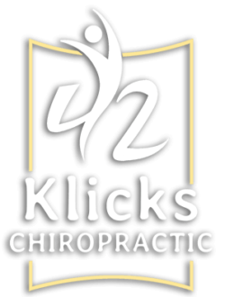 42 Klicks Chiropractic Business Logo
